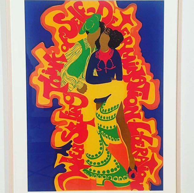 """When Styling, Think of Self-Determination-Liberation"" ⠀ Couldn't have said it better myself. ✊🏼✊🏽✊🏾 ⠀ When Styling, Barbara Jones-Hogu (1973) ⠀ ⠀ ⠀ #blackisbeautiful #arthaspower #whenstyling #barbarahoneshogu #blackartsmovement #silkscreen #liberation #selfdetermination #africobra #socialdesign #designforgood"