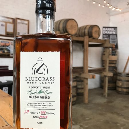 Bluegrass Distillers, located Lexington, KY take pride in the ability to complete every step of the process from mashing ingredients, fermenting, distilling in their 250 gallon copper pot still.