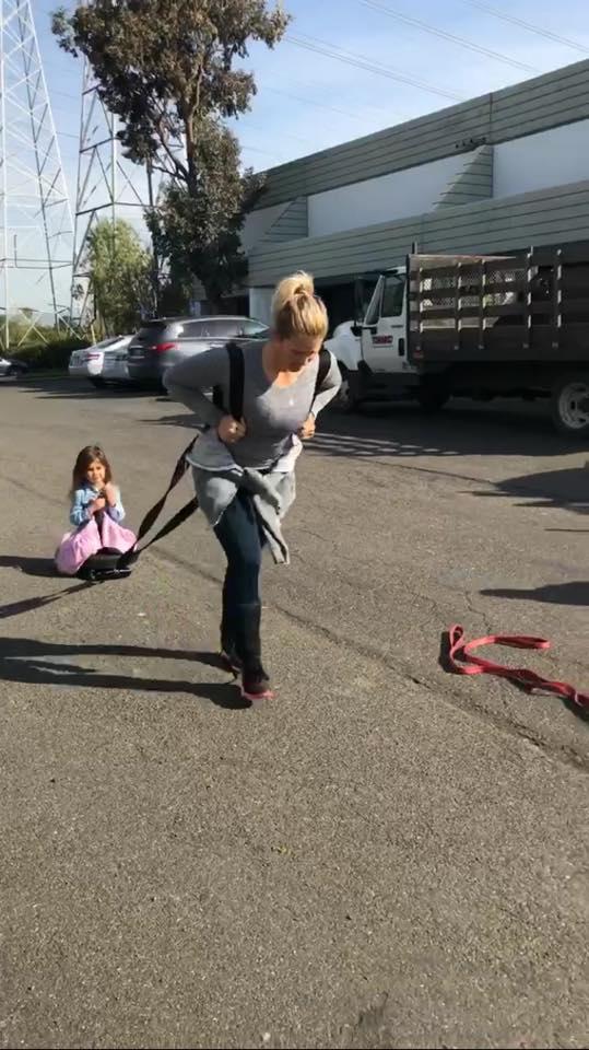 Sam balancing kids and fitness