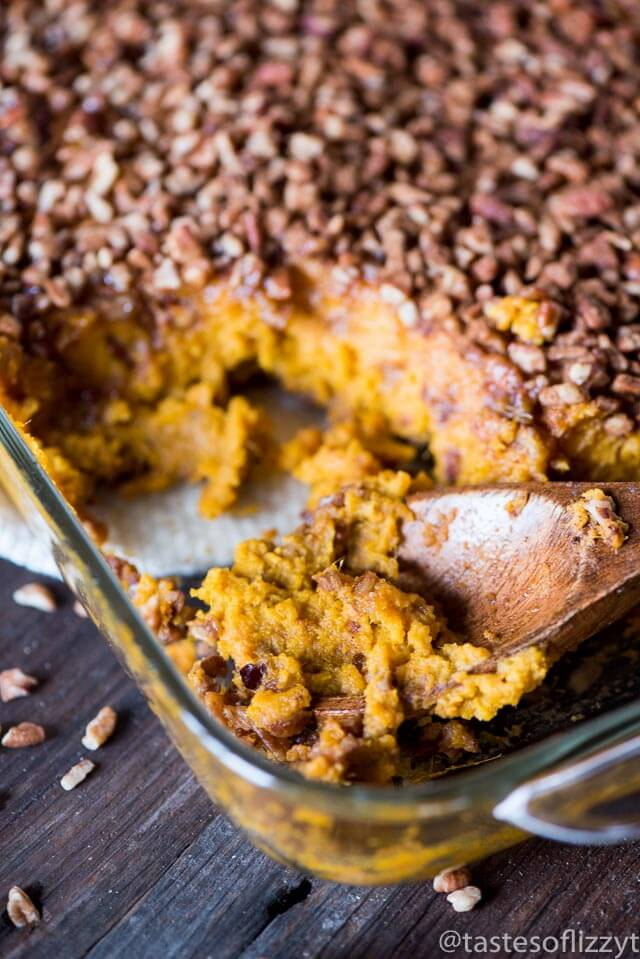 Recipe of the week - Sweet potato casserole