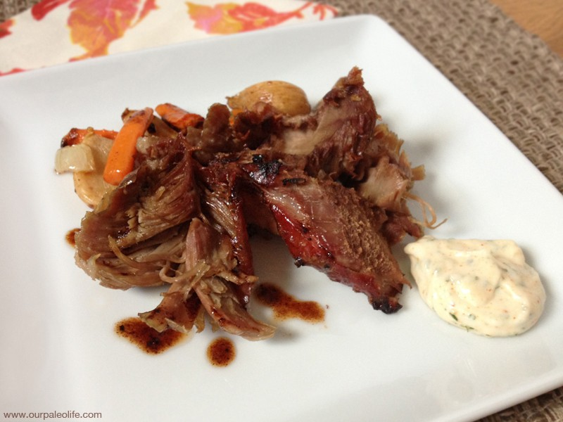 Recipe of the week - Slow roasted pork shoulder