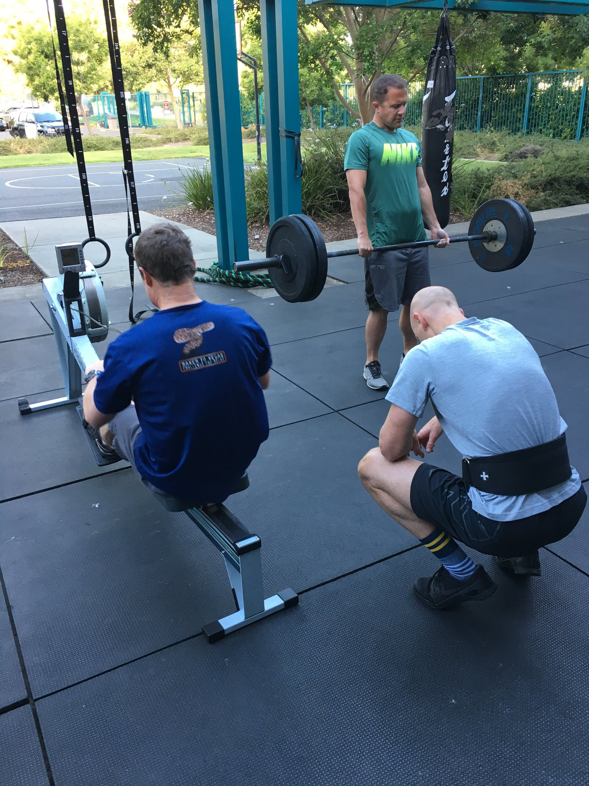 Battle of the Badges workout #1 testing