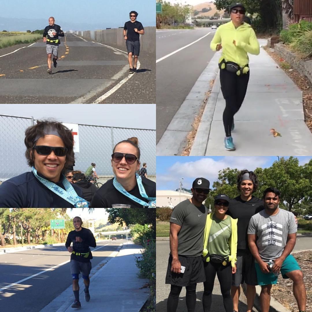 Our SF marathon runner club!