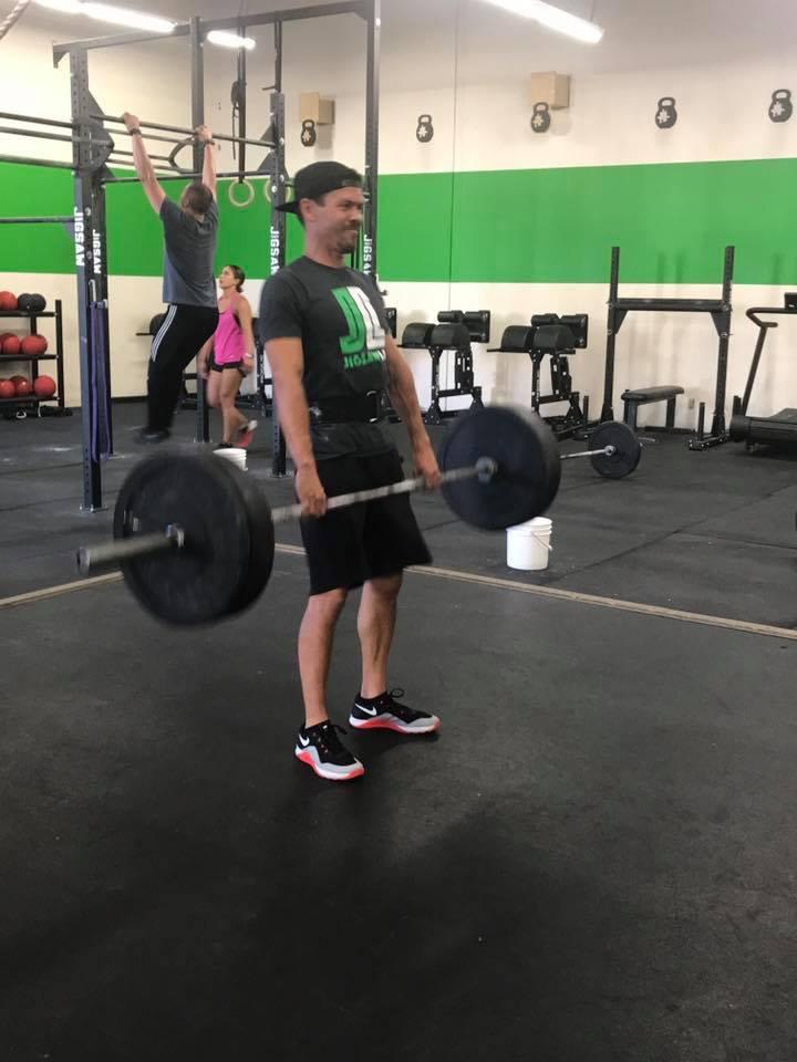 Brett making weight look light!
