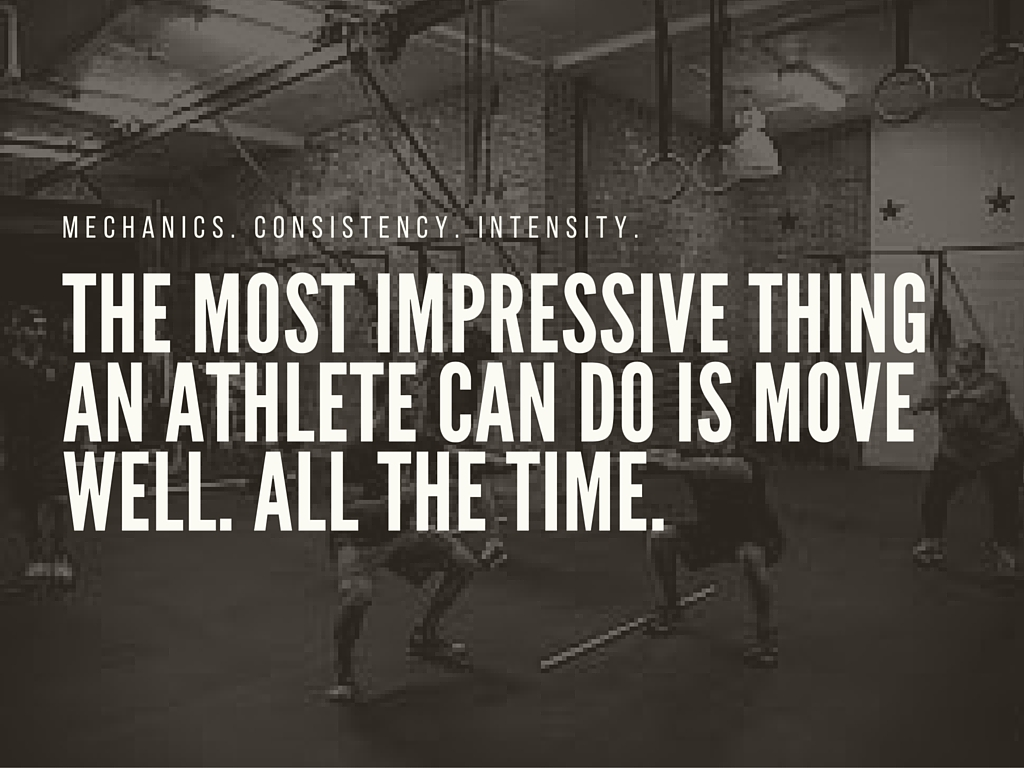 What's your focus during a workout?
