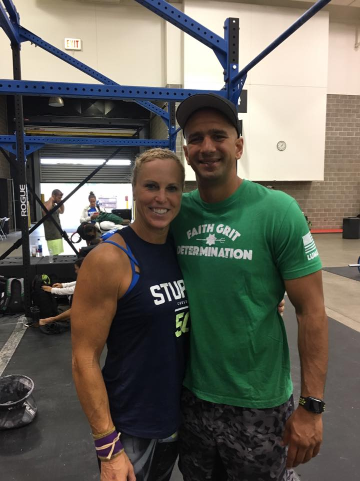 Diane officially fined 3rd in the 50-54 women's 2017 CrossFit Games