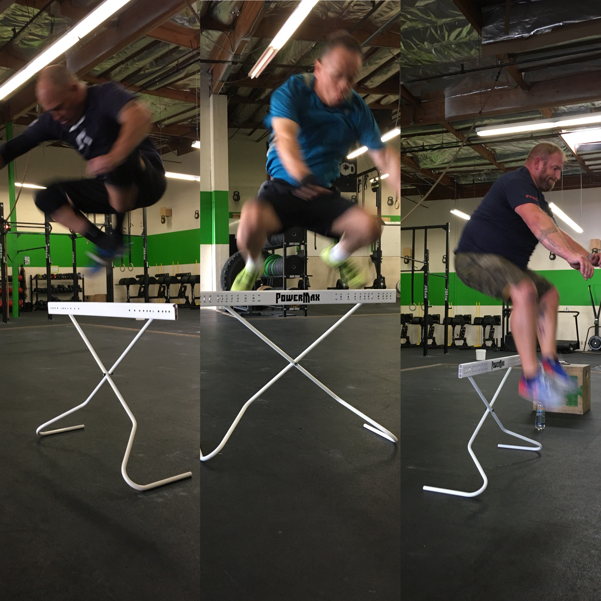 How high did you get on the Hurdle Jumps?