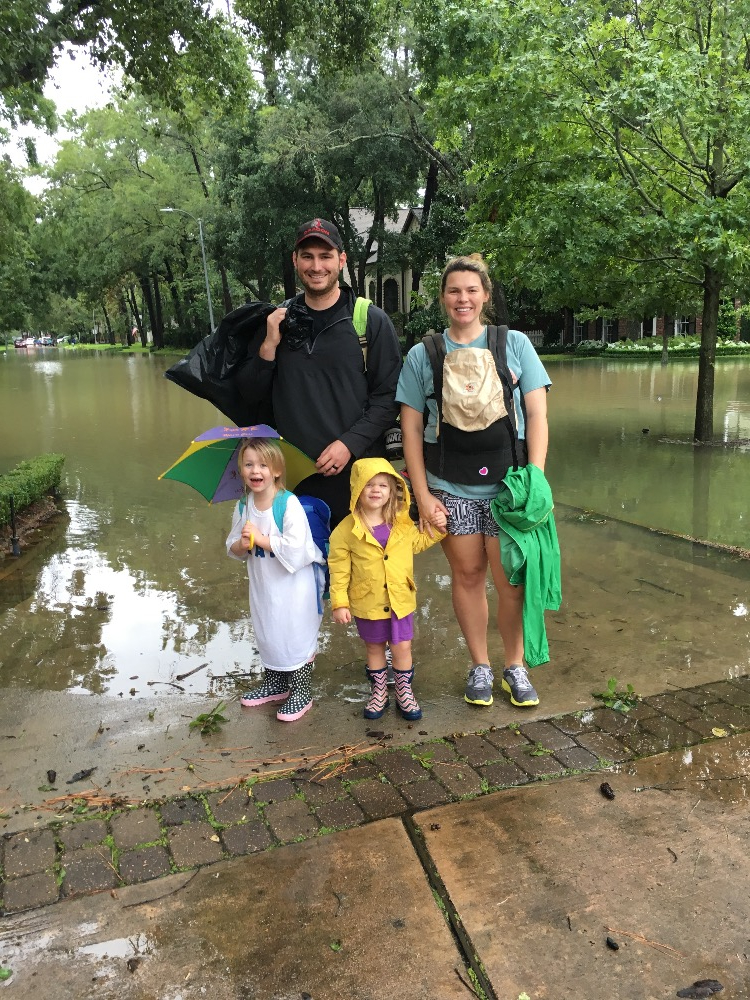 Jordan and his family surviving Hurricane Harvey
