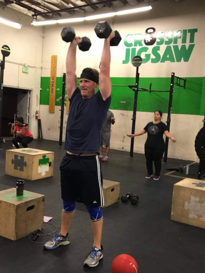 Clean and Jerk 3 ways today