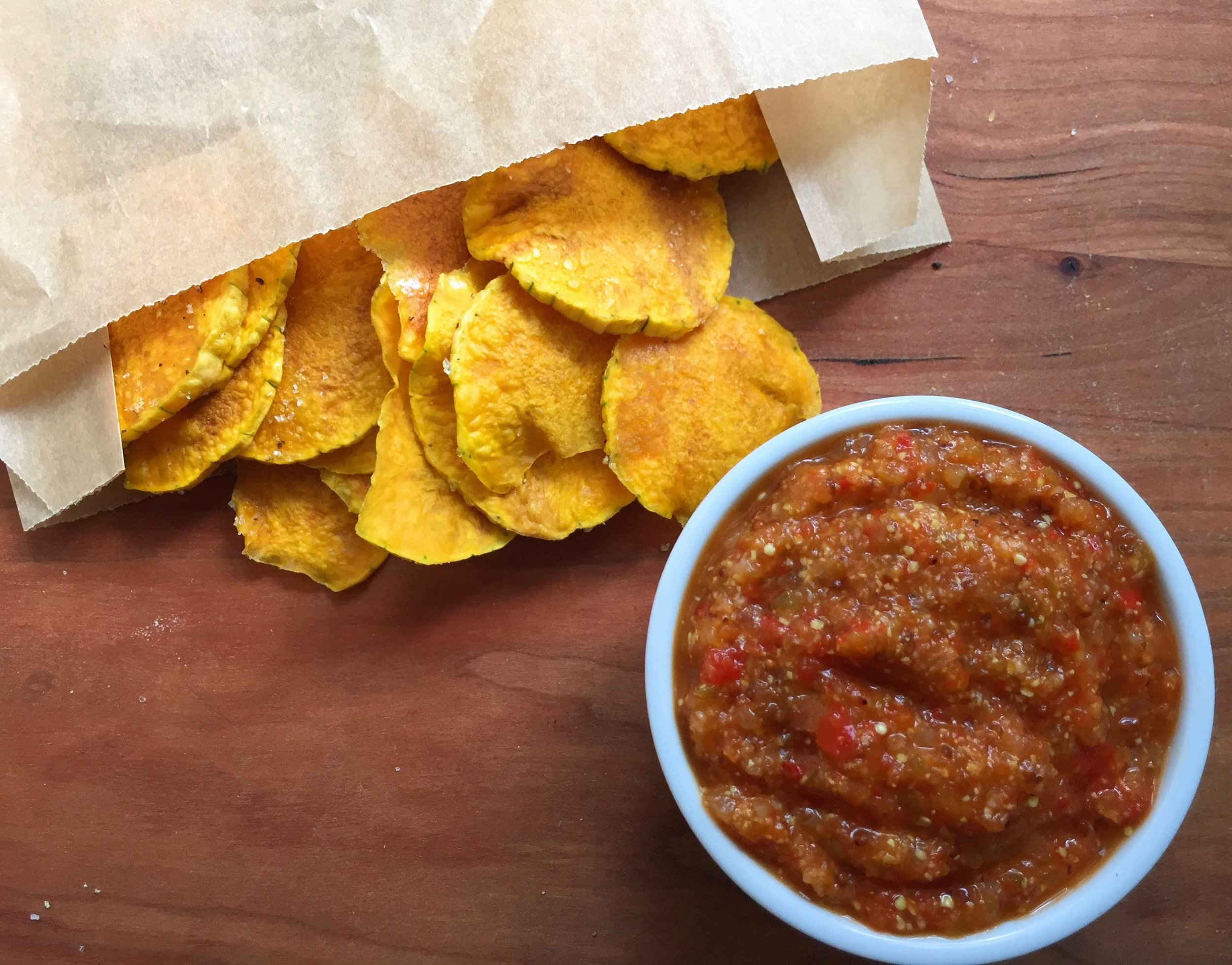 Recipe of the week - Microwave Butternut Squash and Fiery Salsa
