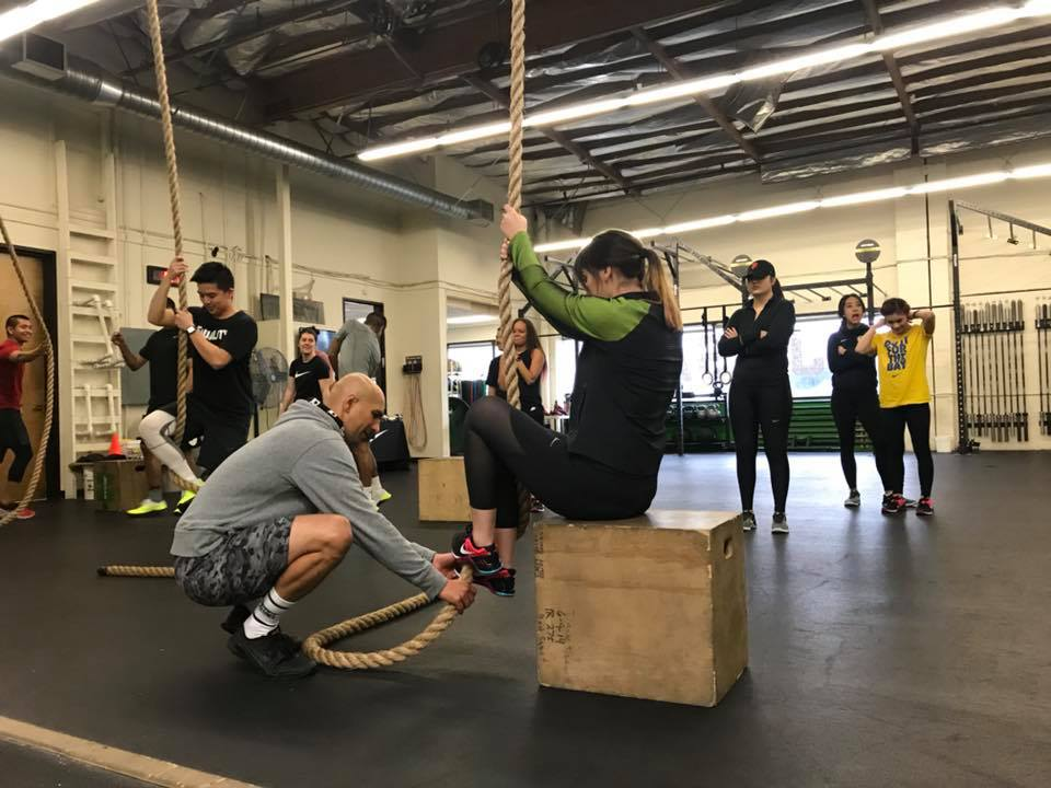Learning the footwork is what makes rope climbs attainable