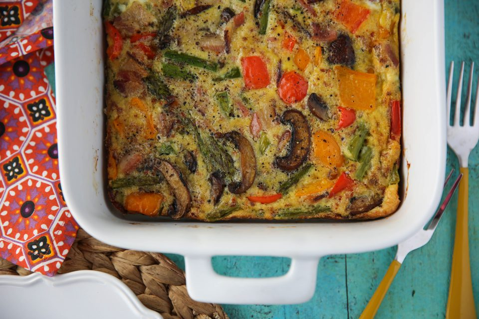 Recipe of the week - Bacon and Egg Loaded Egg Casserole