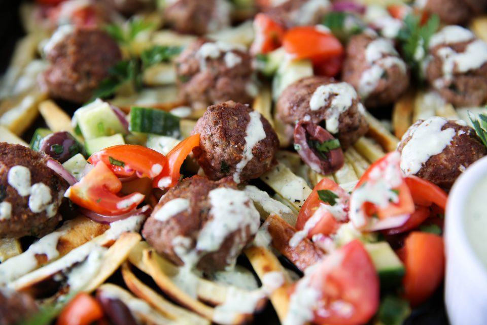 Recipe of the week - Gyro Meatball Loaded Fries