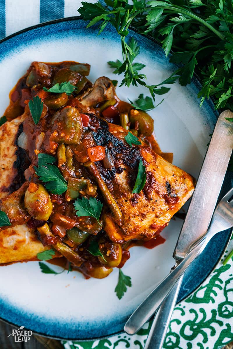 Recipe of the week - Italian Chicken Skillet