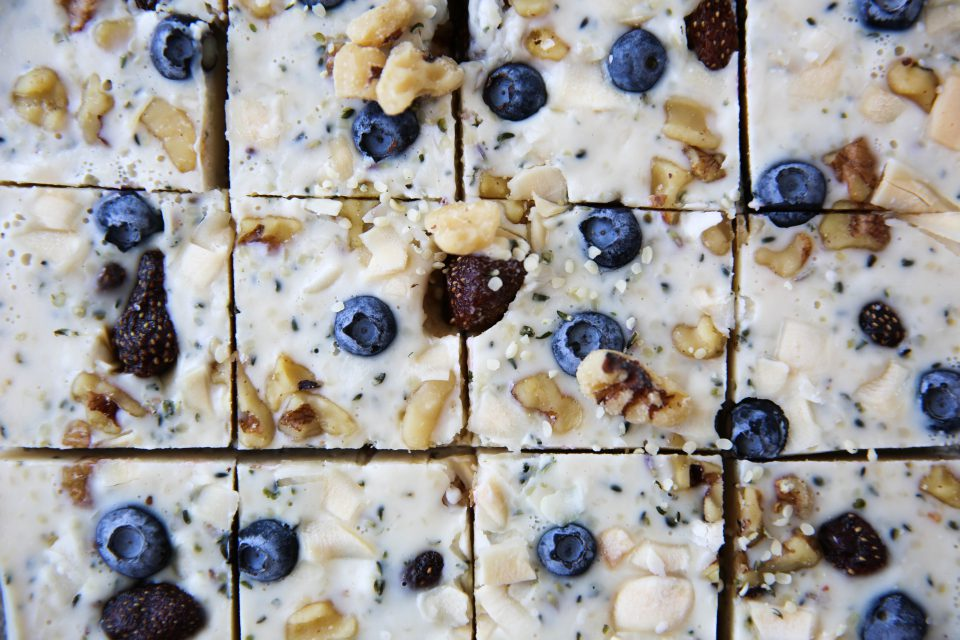 Recipe of the week - Breakfast Yogurt Freeze Squares