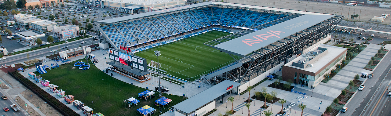 Just a week away from the Earthquakes game at Avaya Stadium!