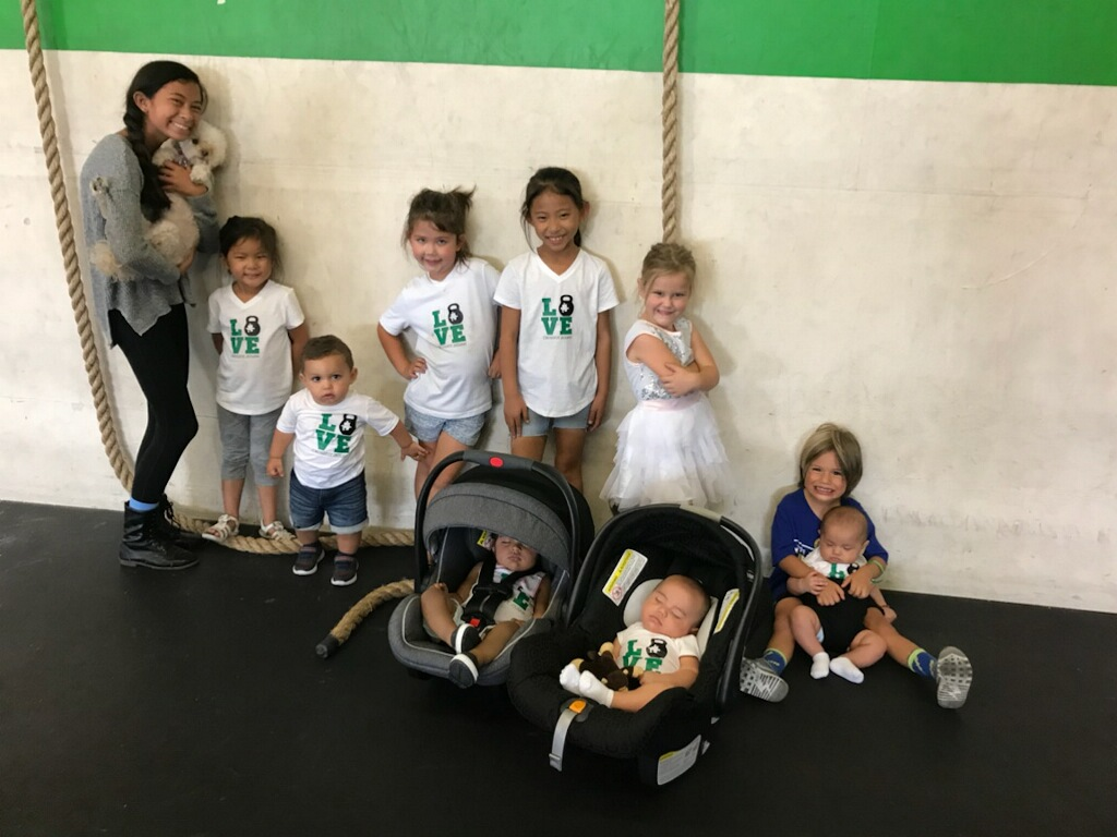 The next generation of strong girls and boys!