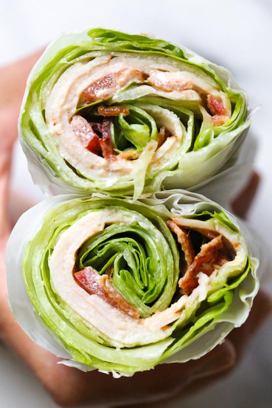 Recipe of the week - Chicken Club Lettuce Wrap