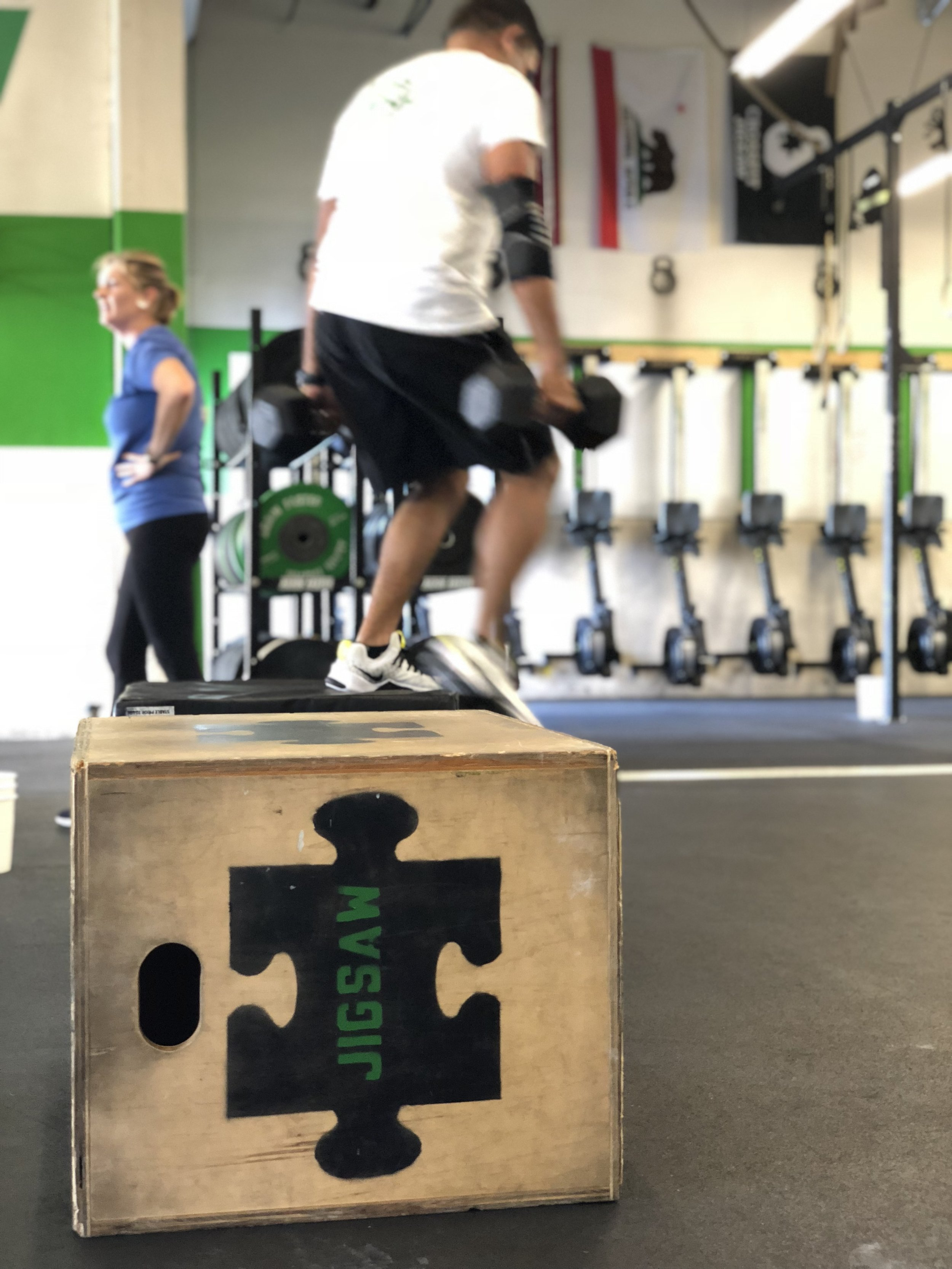 Box jumps and power cleans today…