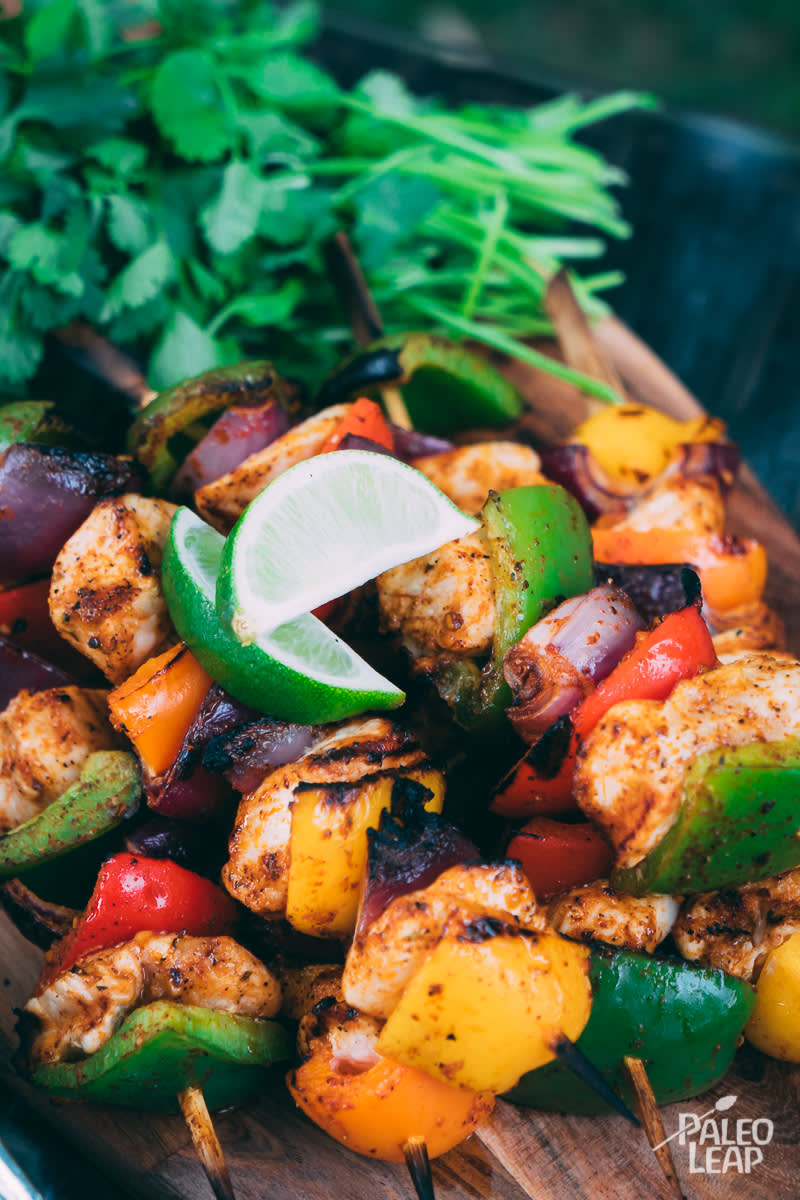 Recipe of the week - Tex-Mex Chicken Kabobs