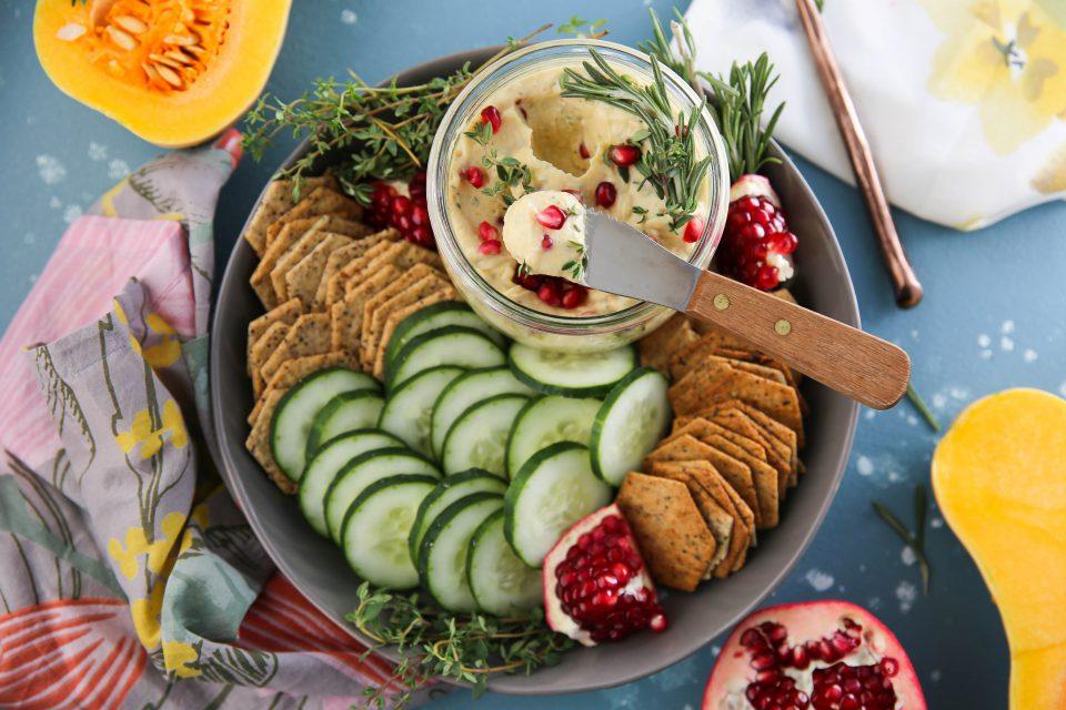 Recipe of the week - Creamy Butternut Squash Pomegranate Dip