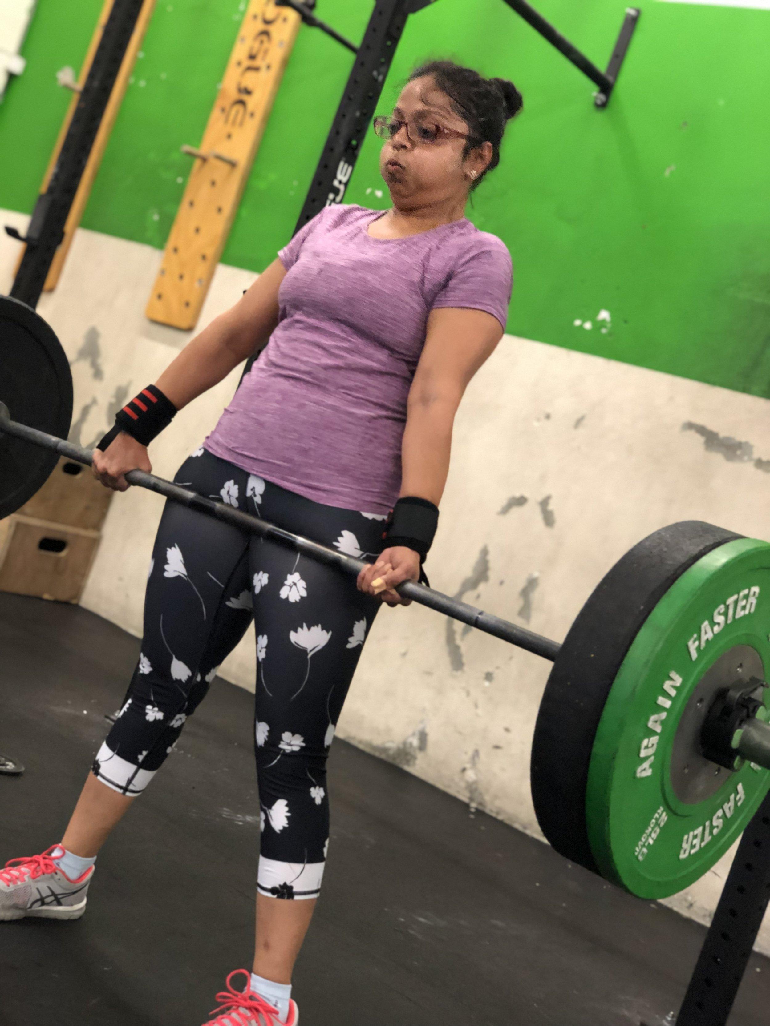 Sindu making heavy weight look light for a Deadlift PR!
