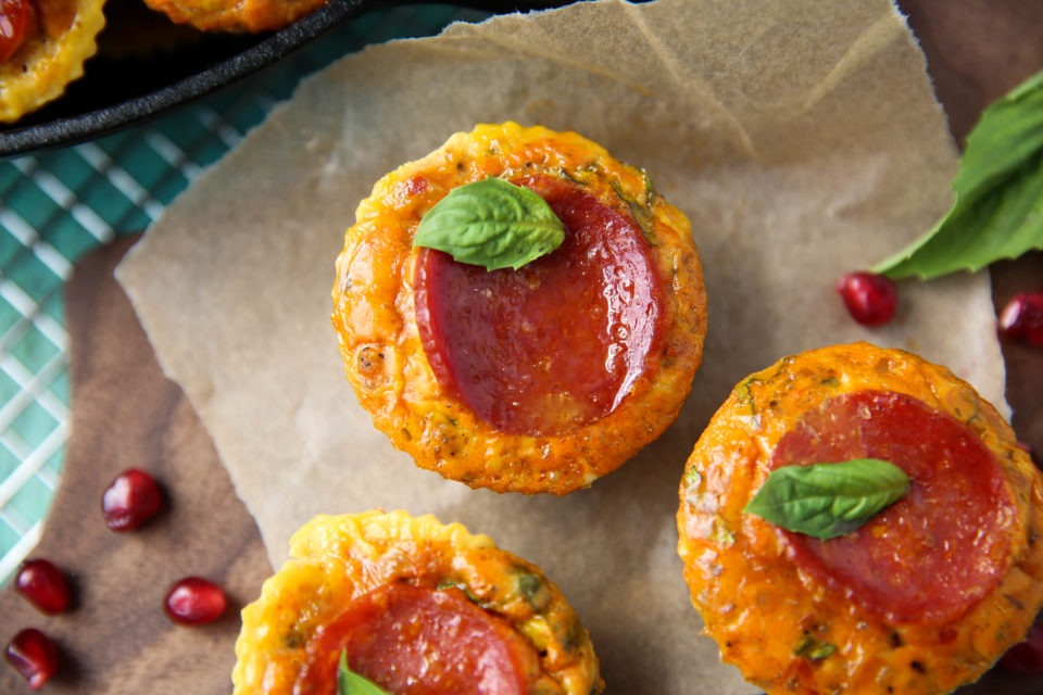Recipe of the week - Pizza egg bites