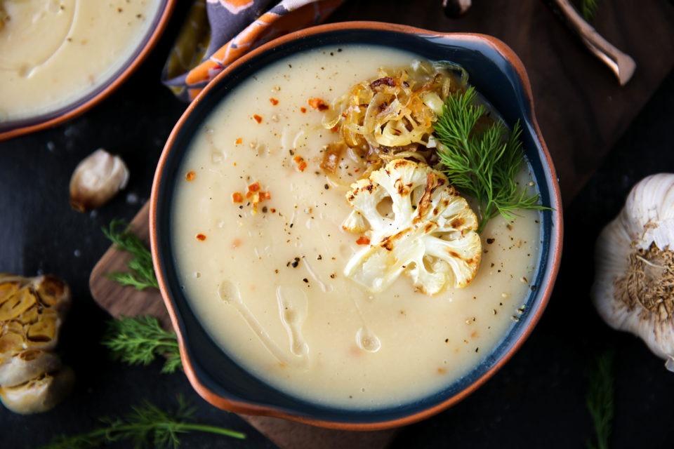 Recipe of the week - Roasted Cauliflower Soup
