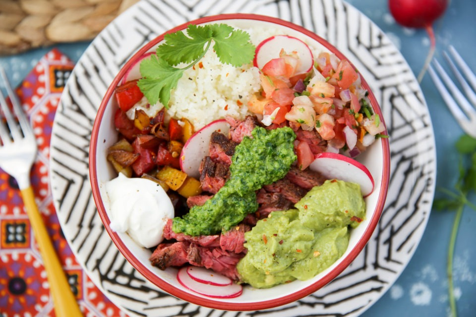 Recipe of the week - Chimichurri Steak Bowl