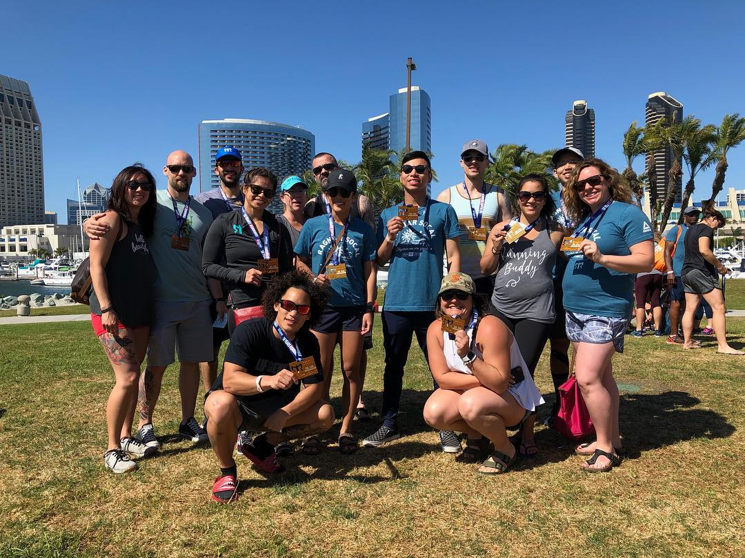 Jigsaw team completing the Ragnar Challenge