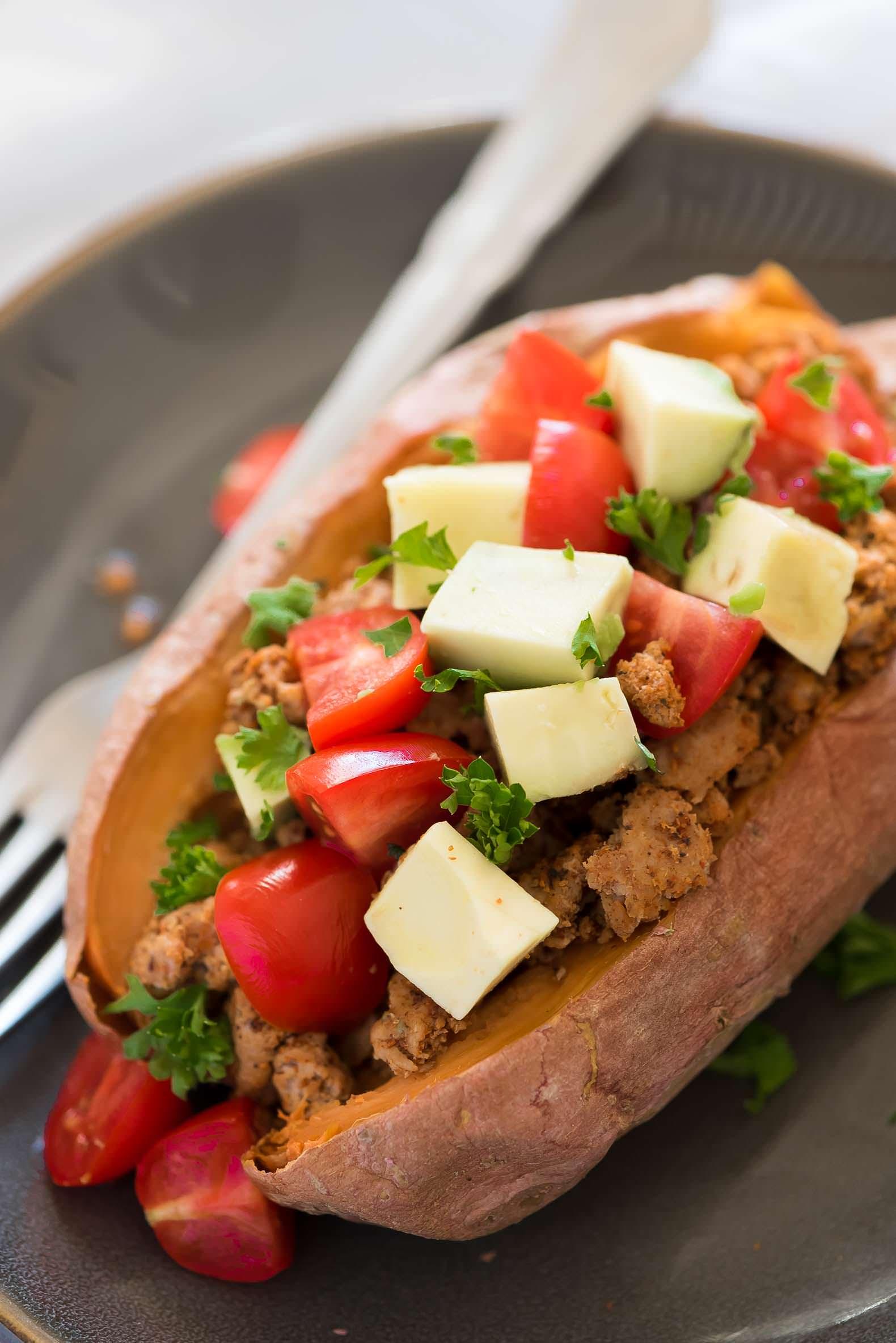 Recipe of the week - Stuffed Sweet Potato Taco