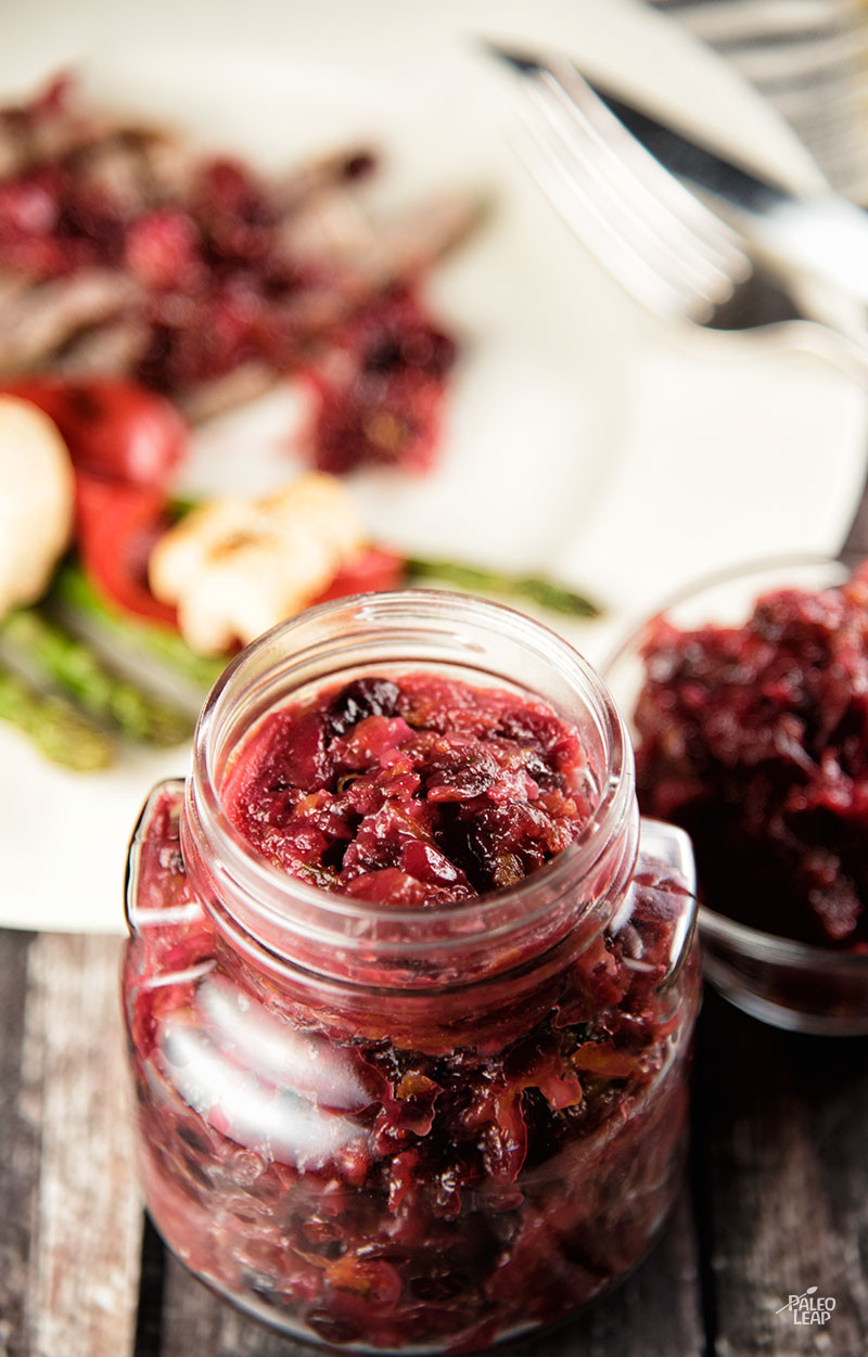 Recipe of the week - Orange and Cranberry Relish