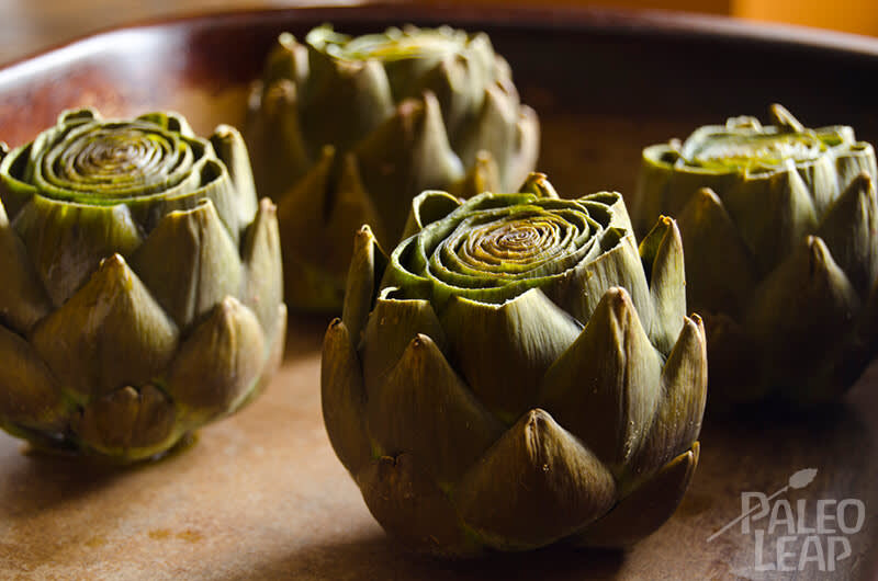Recipe of the week - Slow Cooked Garlic Artichoke