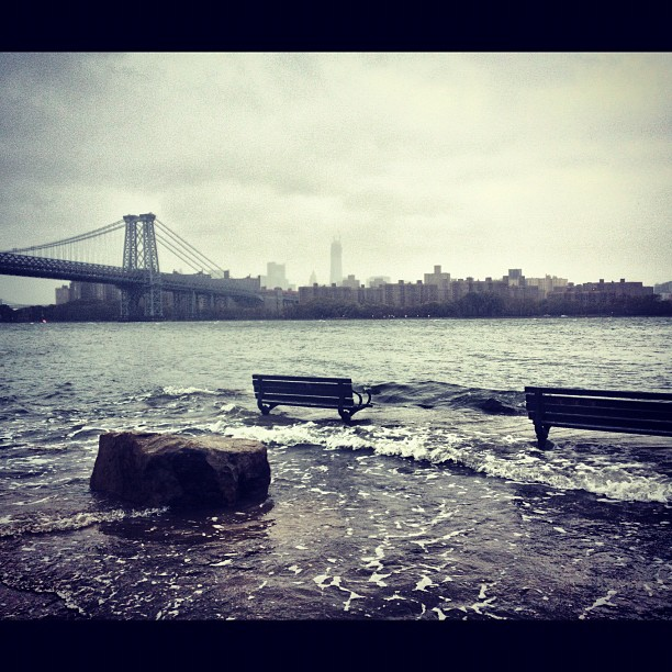 my neighboorhood during hurricane sandy