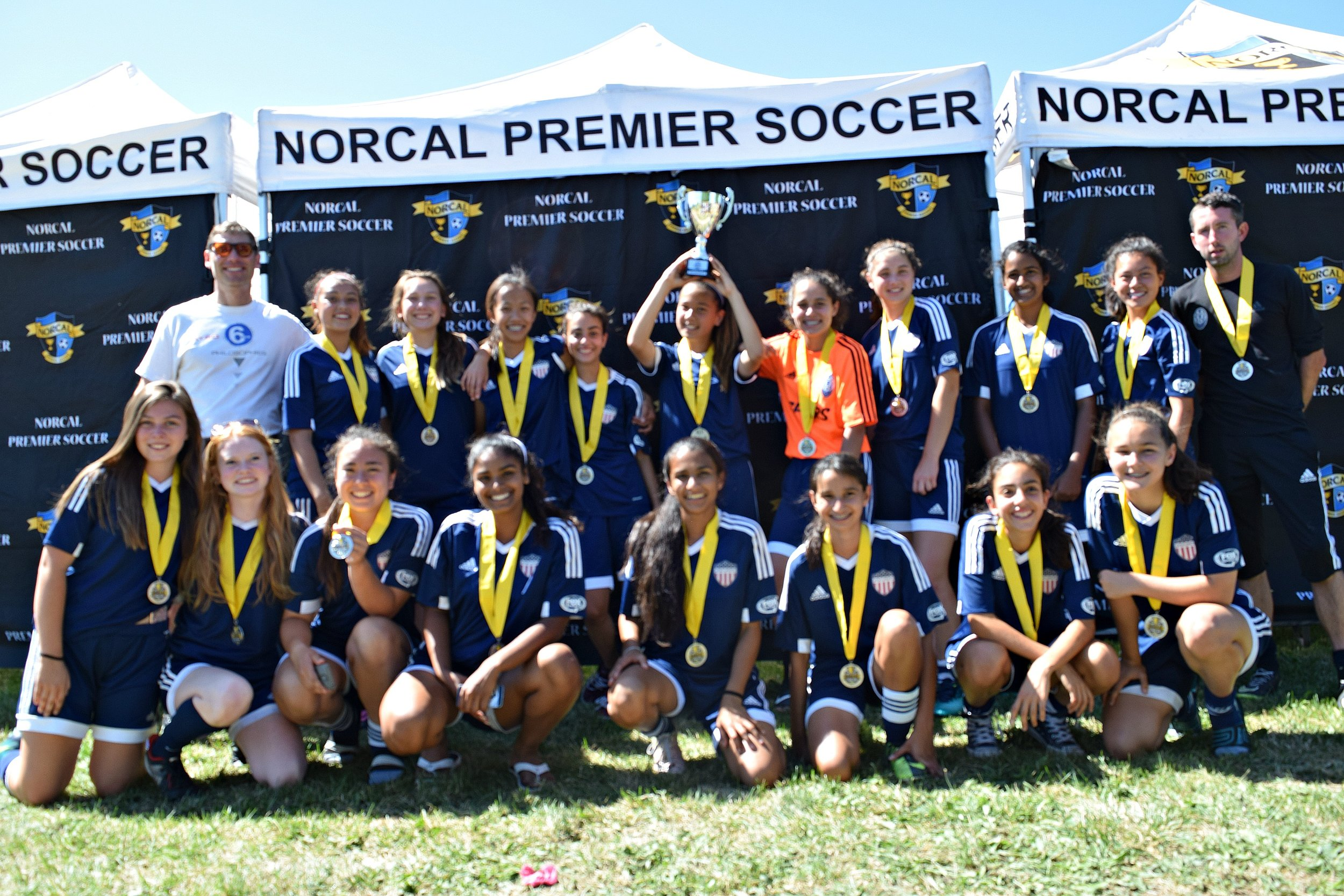 Spurs 01G Blue take 2nd place in NorCal State Cup!