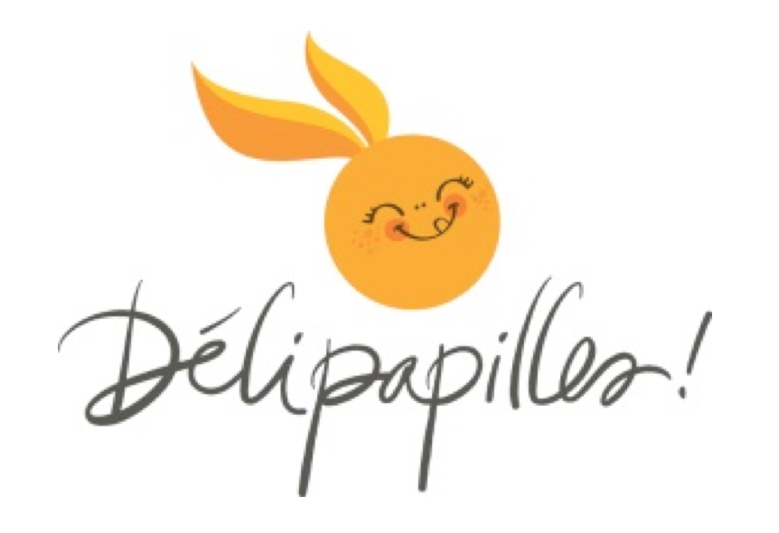 Visual identity of Délipapilles Room Service