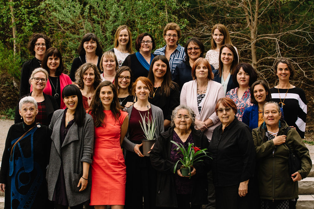 The Nourish innovators, advisors, team and Elders at the final Food for Health Symposium in May 2019.