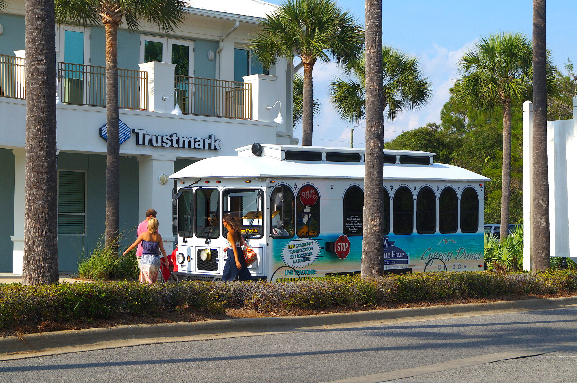 Ride the Turtle Express - 30A Trolley   Providing free transportation along Florida's scenic Highway 30A between Dune Allen and Seaside.