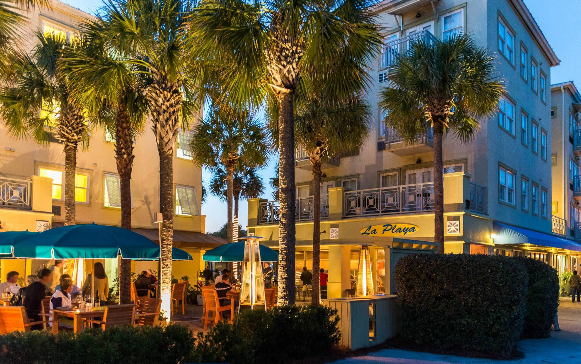 Nightlife   Enjoy dining and live music at LaPlaya, The Perfect Pig and more!