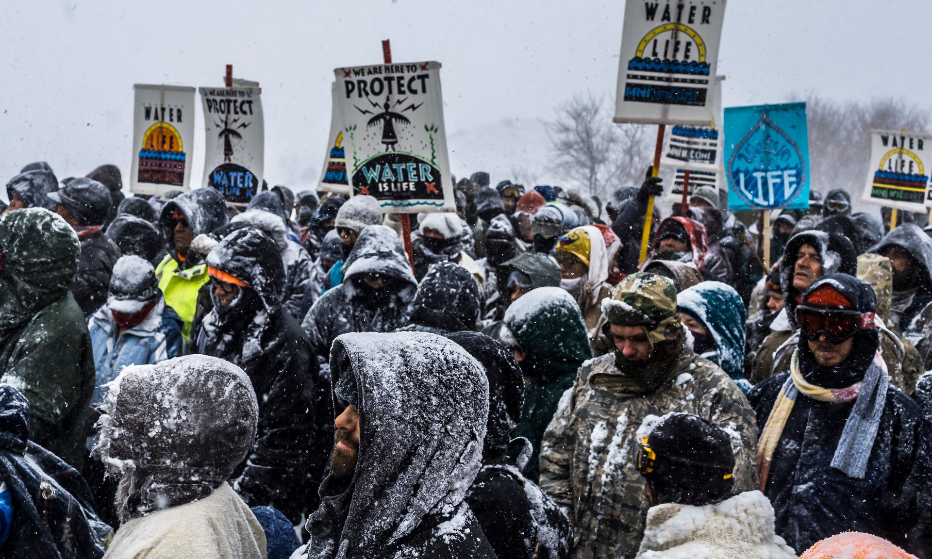 A permit has been granted for the oil pipeline to cross the Missouri river, following Donald Trump's executive order. Photograph: UPI / Barcroft Images