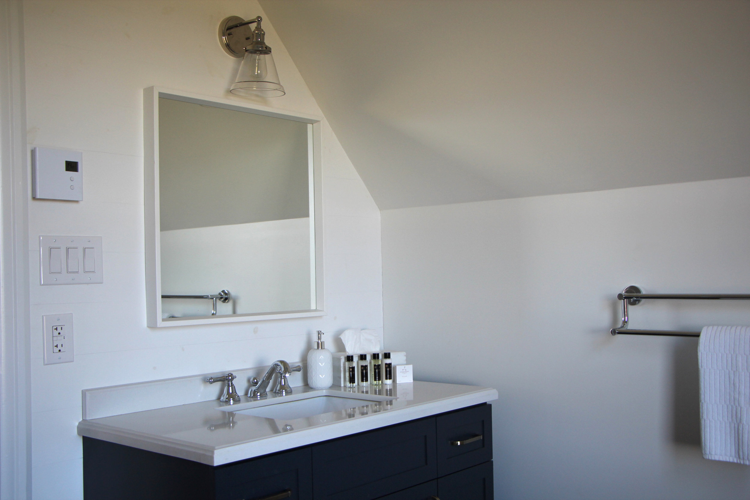 A modern makeover for the bathroom