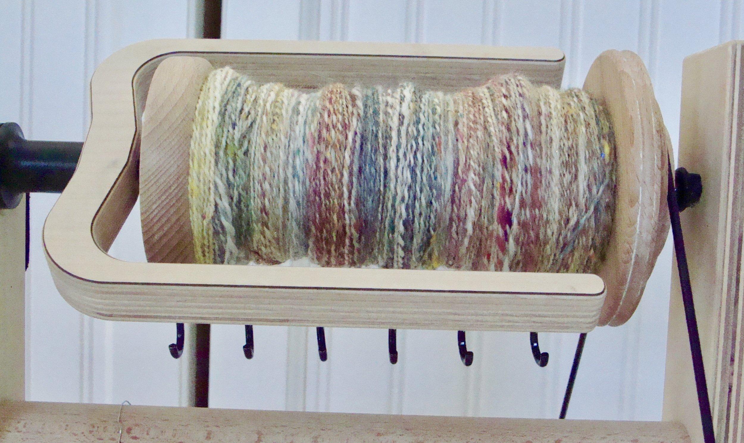 2 ply-handspan-yarn-bobbin