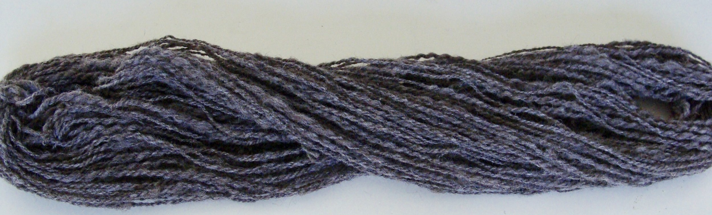 Coopworth wool handspun 2-ply unfinished