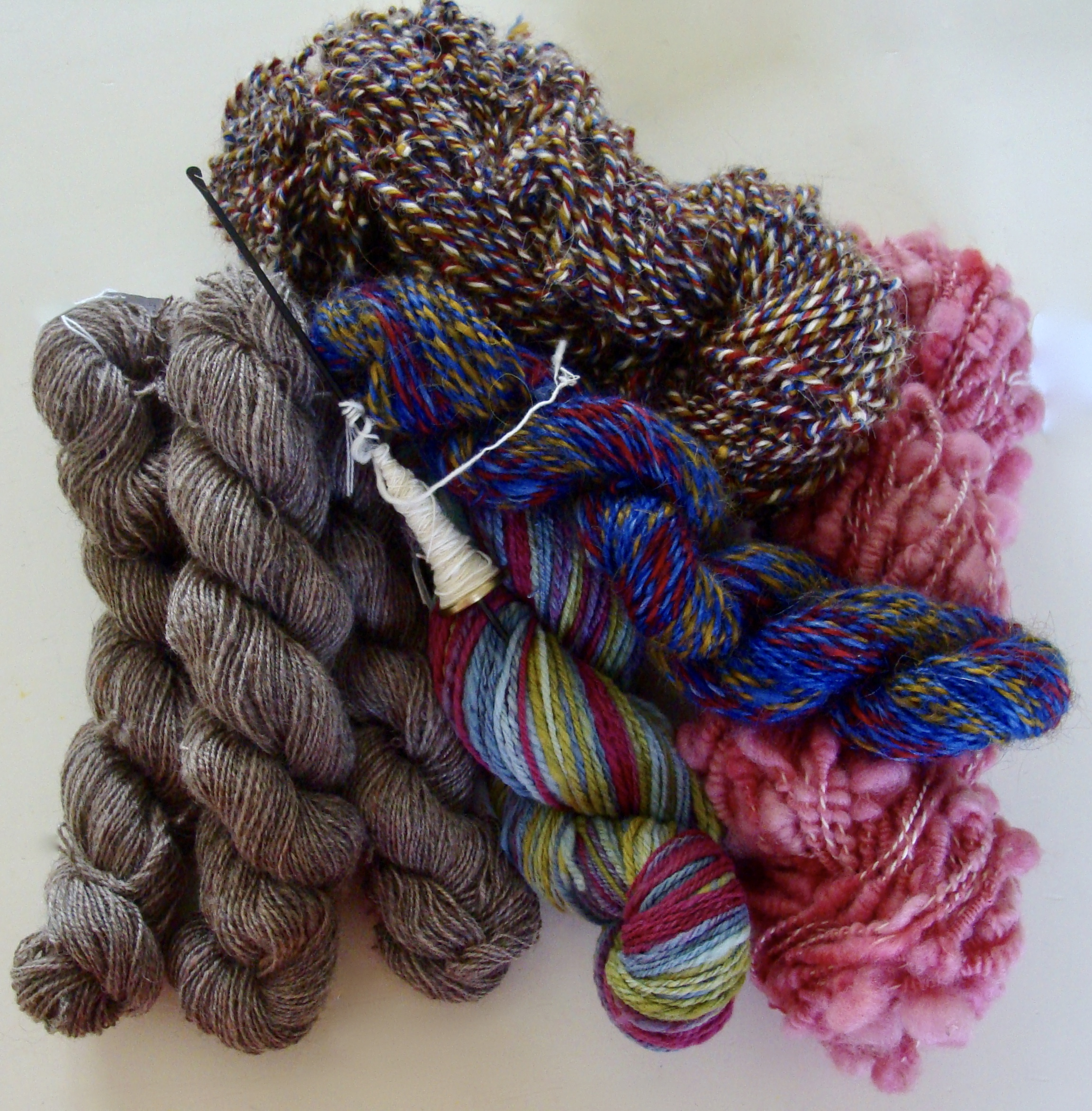 2017 Tour de Fleece finished handspan yarn