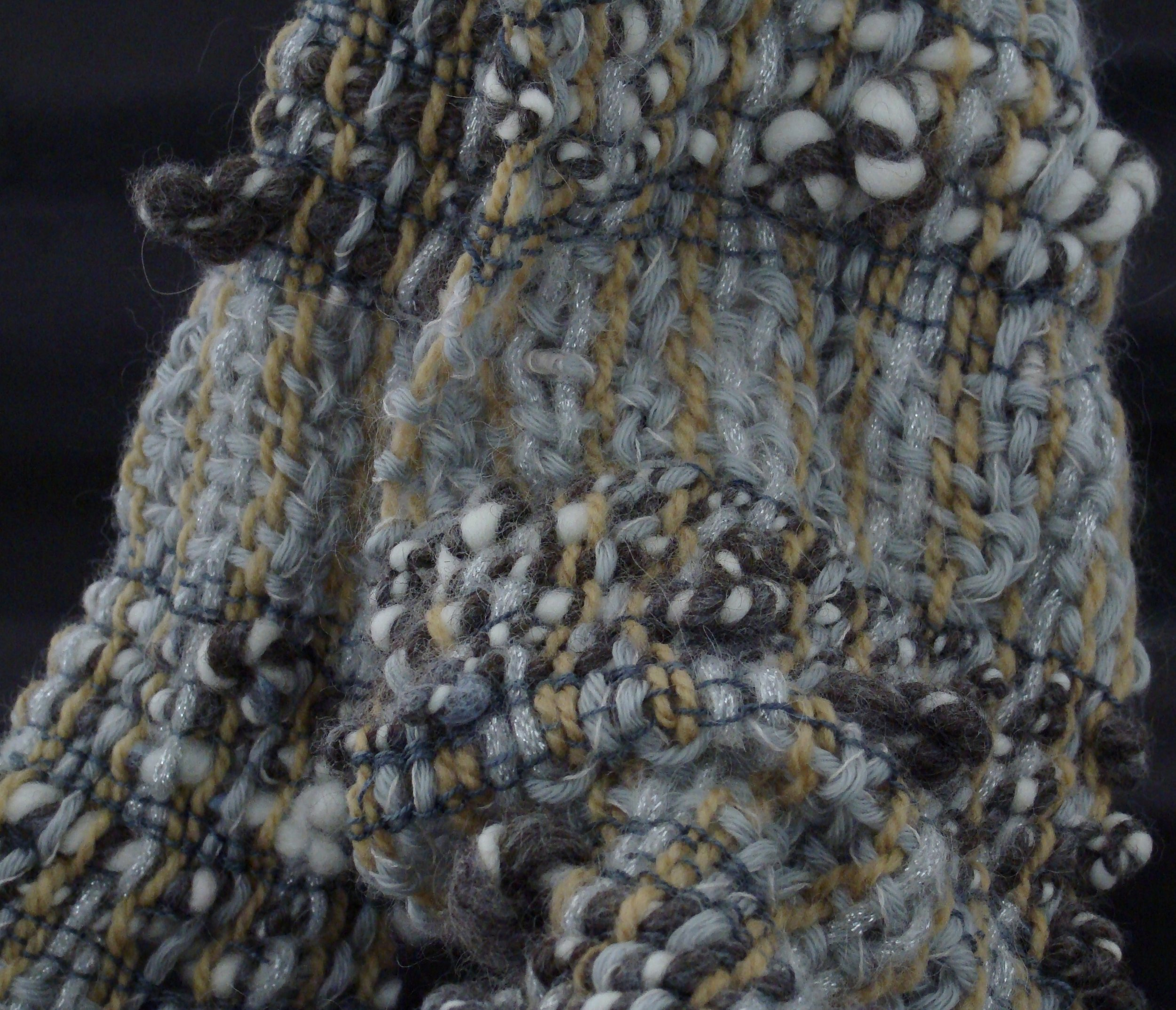 Handwoven Winter Palette scarf