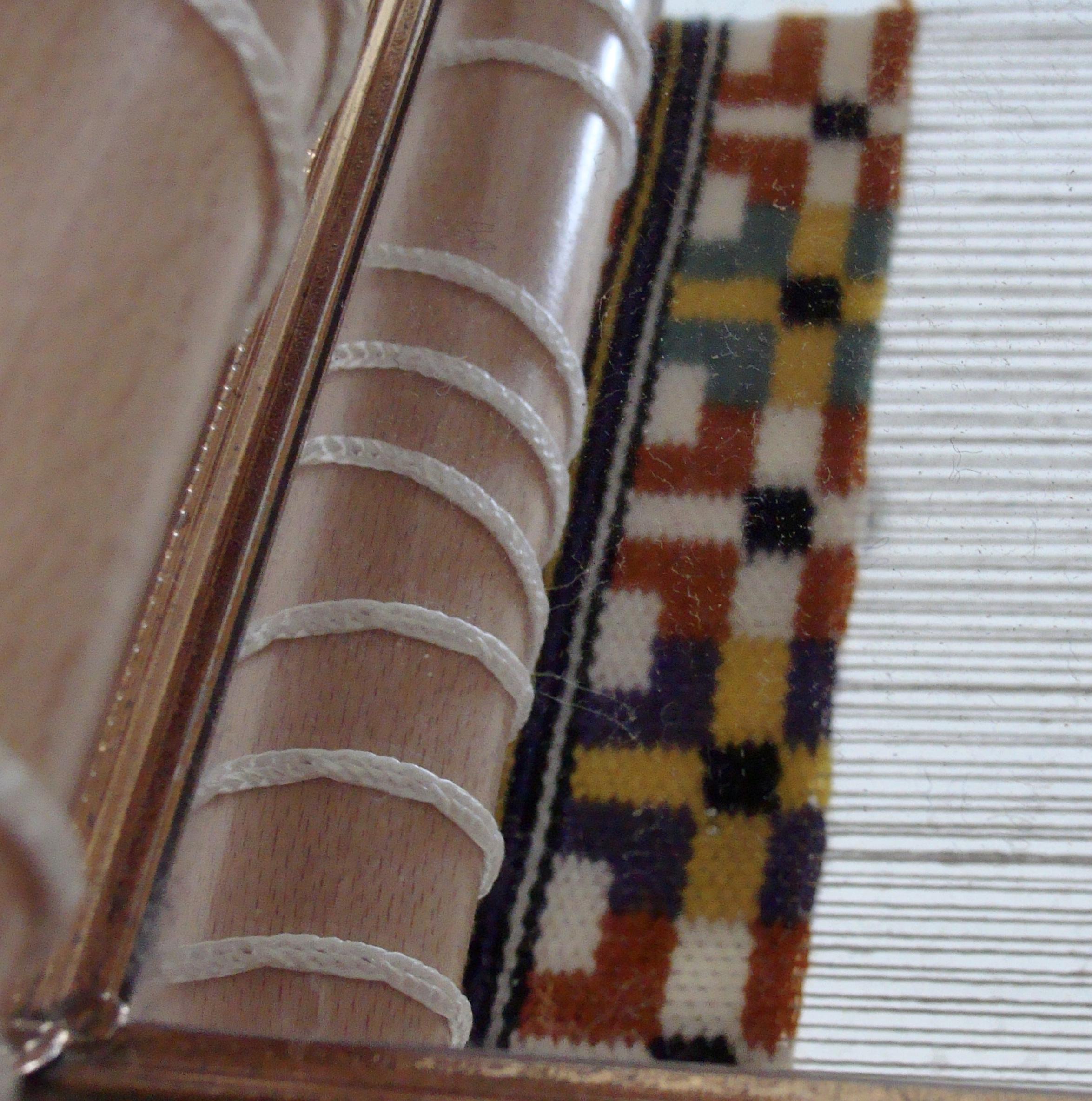 Handwoven Swedish Art Weave bag