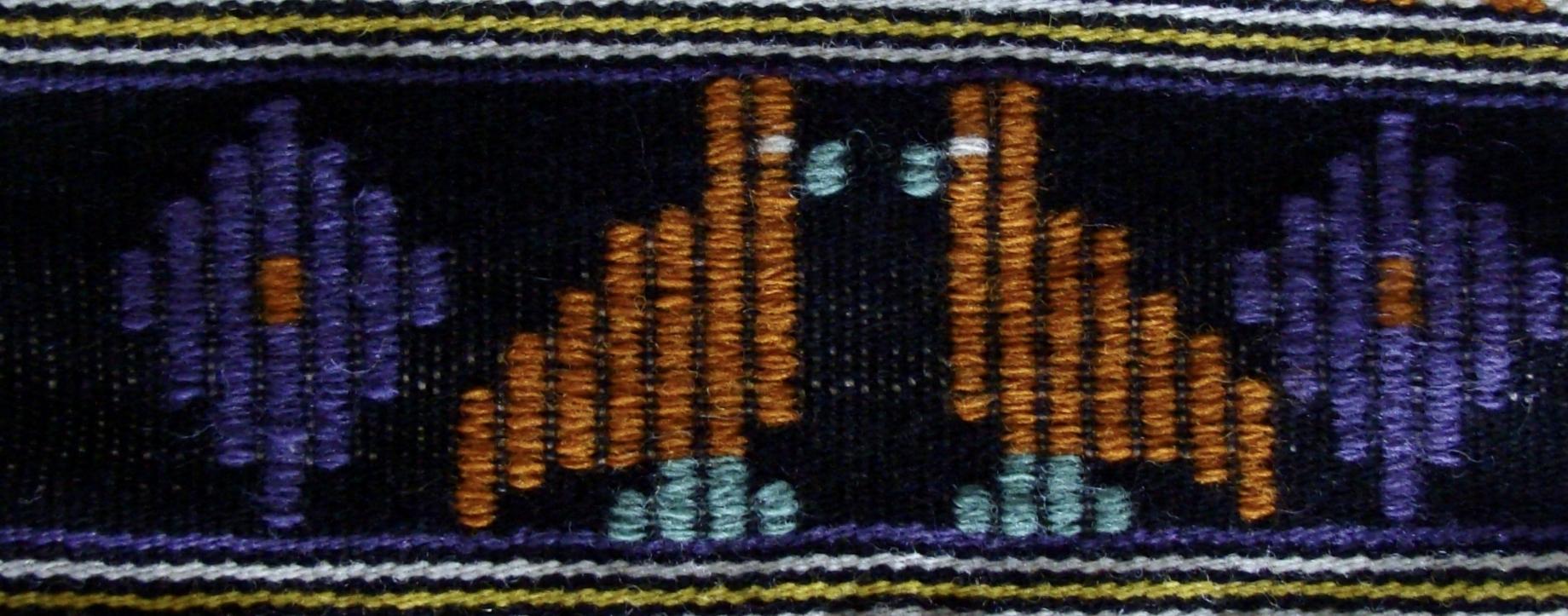 Dukagâng Swedish Art Weave Technique