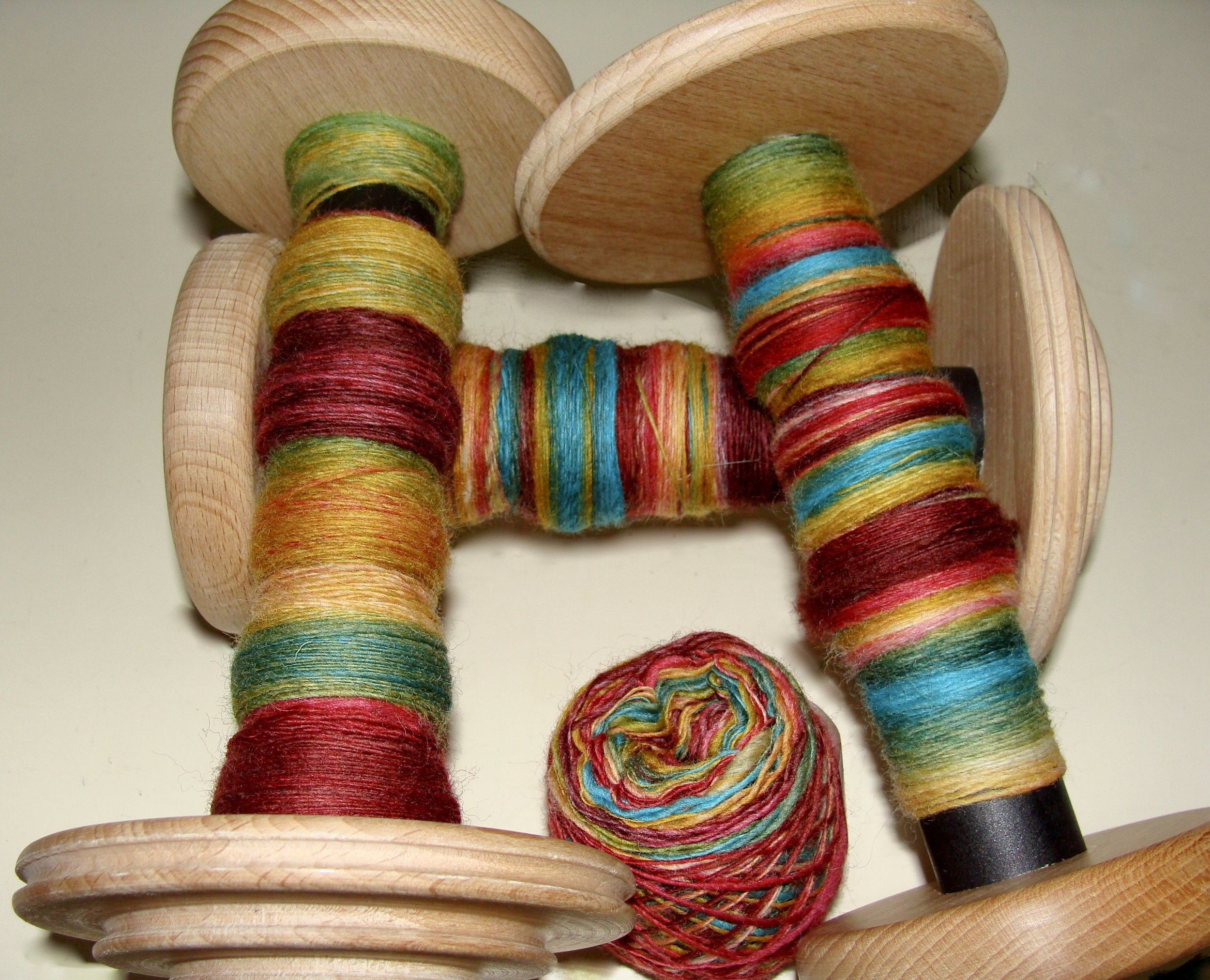 handspun Falkland wool