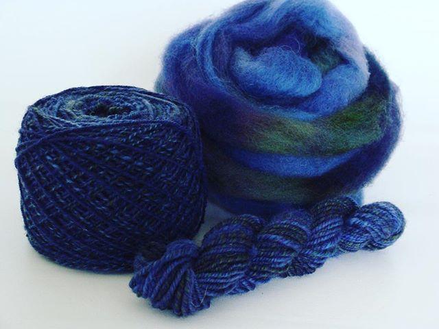 Handspun targhee wool for socks, fingering weight. #spinoffsalkal2018 #interweave #doodler01