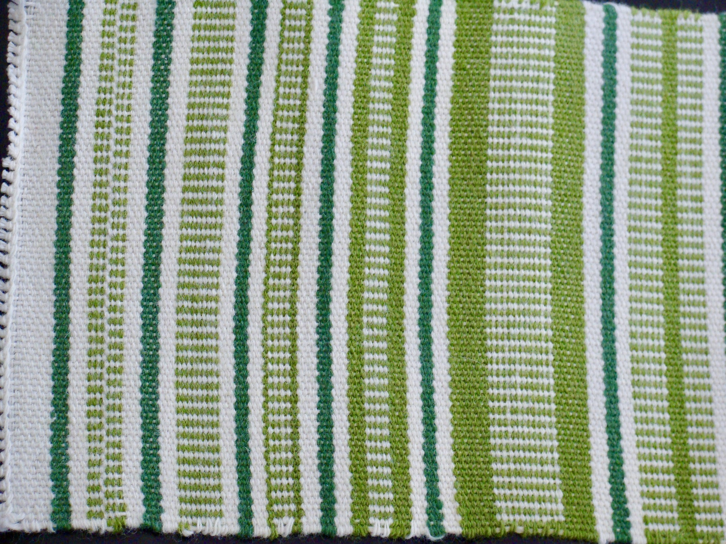 Sampler I Weft Faced Patterns Plain Weave